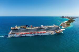 9 nap  Bahamák a Norwegian Getaway fedélzetén