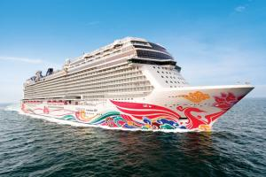 16 nap  Panama-csatorna a Norwegian Joy fedélzetén